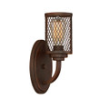 Millennium Lighting 3271-RBZ Akron Wall Sconce in Rubbed Bronze