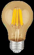Kodak 42045-UL 6W A19 LED Filament Amber 2700K Lightbulbs (Set of 4)