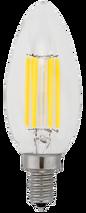 Kodak 55000-UL 6W Torpedo Collection 2700K CRI 82 Warm White Lightbulbs (Set of 6)