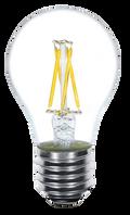 Kodak 41044 4W A19 LED Multi Filament Non-Dimmable 2700K Lightbulbs (Set of 6)