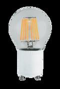 Kodak 55008 8W A19 Clear 8 Filament Lightbulbs (Set of 2)