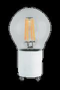 Kodak 55051 4W A19 Clear 4 Filament Lightbulbs (Set of 4)