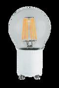 Kodak 55052 6W A19 Clear 6 Filament Lightbulbs (Set of 2)