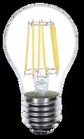 Kodak 55076 6.5W A19 LED 7 Filament 2700K Lightbulbs (Set of 6)