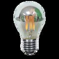 Kodak 55048 6W A19 LED Filament Mirror Lightbulbs (Set of 2)