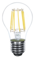 Kodak 41181-UL 7W A19 LED 8 Filament 2700K Lightbulbs (Set of 2)