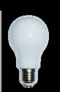 Kodak 42054 9W A19 Milky Glass 3000K Lightbulbs (Set of 4)