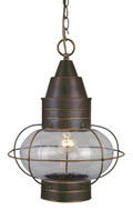 """Vaxcel OD21836BBZ Chatham 13"""" Outdoor Pendant"""