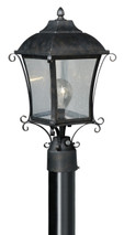 "Vaxcel T0032 Sonnet 8-3/4"" Outdoor Post Light"