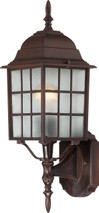 "NUVO Lighting 60/4902 Adams 1 Light 18"" Outdoor Wall with Frosted Glass"