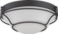 NUVO Lighting 62/528 Baker LED Flushmount Fixture with Satin White Glass