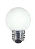 SATCO S9159 Set of 6 LED Globe Light LED Lightbulbs (1.4W/G16.5/WH/LED/120V/CD/E26)