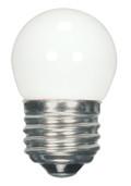 SATCO S9161 Set of 6 Sign & Indicator LED Lightbulbs (1.2W/S11/WH/LED/120V/CD)
