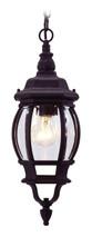 LIVEX Lighting 7523-04 Frontenac Chain Lantern in Black (1 Light)