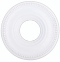 LIVEX Lighting 82072-03 Wingate Ceiling Medallion in White