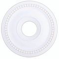 LIVEX Lighting 82073-03 Wingate Ceiling Medallion in White