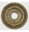 LIVEX Lighting 82074-36 Wingate Ceiling Medallion with Hand-Applied European Bronze