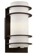 "Zephyr 11"" Outdoor Black Transitional Wall Lantern"