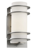 "Zephyr 11"" Outdoor Silver Transitional Wall Lantern"