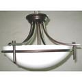 """Vitalian 21.5"""" Indoor Rubbed Oil Bronze Contemporary Semiflush"""