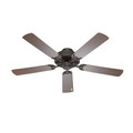 """Seltzer Seltzer 52"""" Indoor Ceiling Fan with 5 Blades and Vintage Oiled Bronze Finish"""