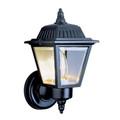 "Trans Globe Lighting 4006 SWI 7.5"" Outdoor Swedish Iron Traditional Wall Lantern(Shown in Black Finish)"