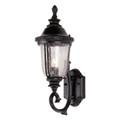 "Trans Globe Lighting 4021 SWI 20"" Outdoor Swedish Iron Traditional Wall Lantern(Shown in Black Finish)"