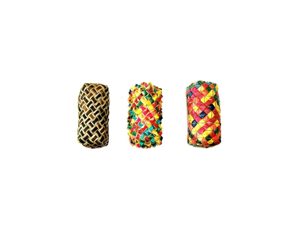 Woven Cylinder Foot Toy