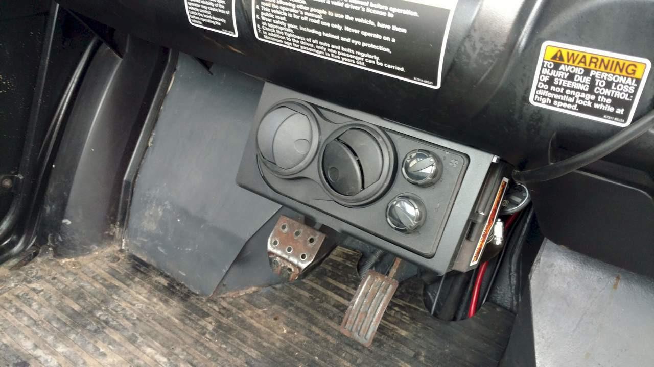 Ice Crusher Compact Cab Heater For Kubota Rtv500
