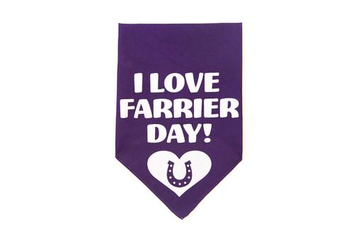 Farrier Day Bandana