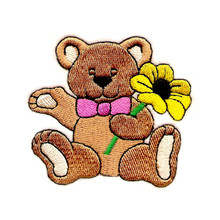 Bear with Flower