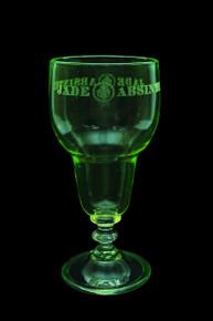 Uranium Reservoir Absinthe Glass by Jade Liqueurs
