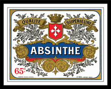 Absinthe Distillery Label Print
