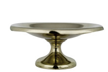 "Antique Absinthe Sugar Dish, Engraved ""BC"" 5.35"""