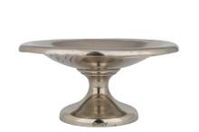 "Antique Absinthe Sugar Dish, Engraved ""BC"" 4.72"""