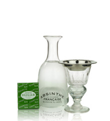 Absinthe Brouilleur Coupe with Text Set for One
