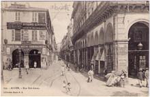 Alger - Absinthe Oxygenee Cusenier Postcard