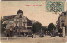 Dijon - Absinthe Paillard & Cie Postcard
