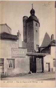 Autun - Absinthe Berger Postcard