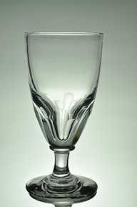 Antique Oeuf Absinthe Glass with Panel Cuts 44461