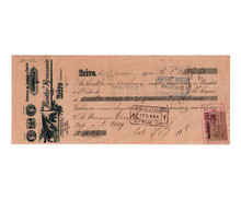Berthy-Roussarie Distillery Money Order