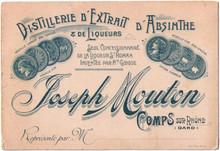 Distillerie Joseph Mouton Business Card