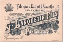 Distillerie G Lanquetin Fils Business Card 42206