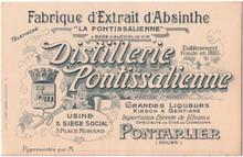 Distillerie Pontissalienne Business Card