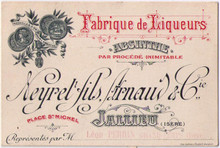 Heyrel Fils, Arnaud & Co. Business Card