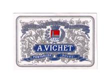 Antique Vichet Mignonnette Absinthe Bottle Label