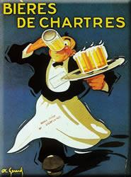 Bieres de Chartres Magnet