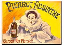 Pierrot Absinthe Note Card