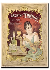 Absinthe Terminus Note Card