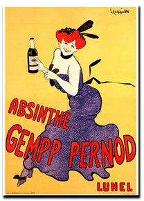 Absinthe Gempp Pernod Magnet